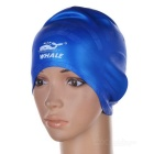 Unisex Waterproof Swimming Hat for Long Hair - Blue