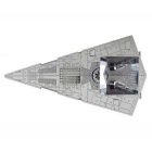 DIY 3D Puzzle Assembled Model Imperial Star Destroyer Toy - Silver