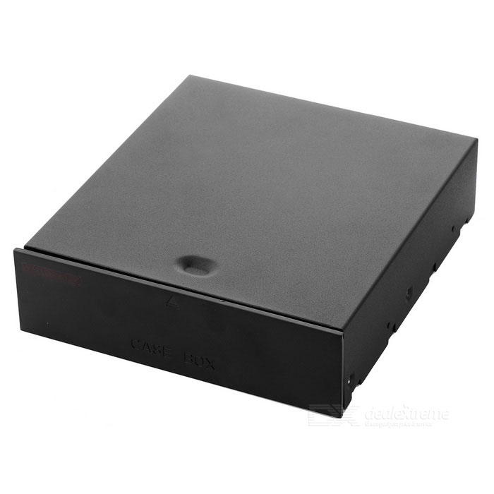 DIY PC Bay Drive Case for Storage Drawer Gadgets Small - Negro