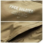 FREESOLDIER FS-FY01 Ultra-Slim Men's Hoodie Jacket - Khaki (L)
