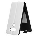 Retro Style Up-Down Flip-Open PU Case for LG G5 - White