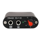 Mini ajustável LED de alumínio Tattoo Power Supply Rotary Motor - Black