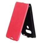 Estilo Retro Up-Down flip-aberto PU Case for LG G5 - Red