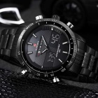 NaviForce NF9024 Men's Analog Digital Dual Display Waterproof Watch