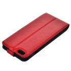 Litchi Grain Up-Down Flip-Open Case for IPHONE 6 Plus/6S Plus - Red