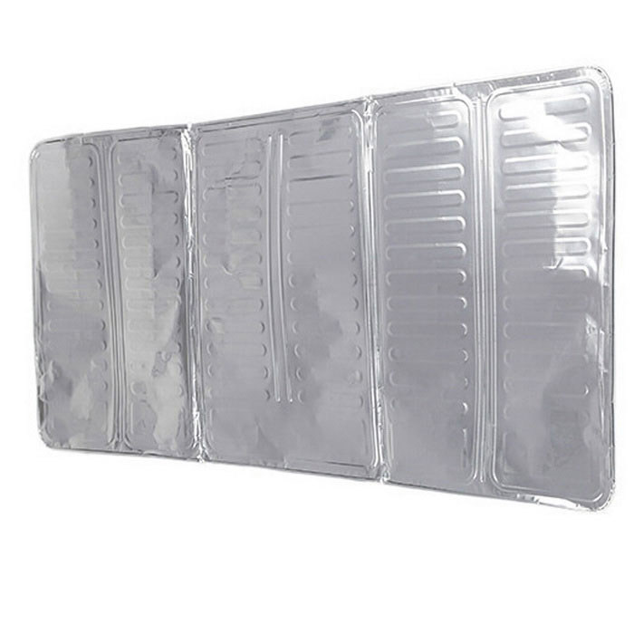 Gas Stove Aluminum Foil Insulation Board Oil Proof Sputtering Baffle