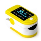 jzk-301 OLED Finger Pulse Oximeter  Heart Rate Monitor - Yellow