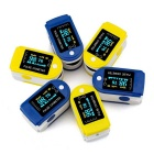 jzk-301 OLED Finger Pulse Oximeter Heart Rate Monitor - Blue