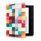 PU Leather Flip Case w/ Dormancy for Amazon Kindle Oasis - Multicolor