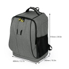 Canvas Shoulder Backpack Bag for DJI Phantom 4/3 Quadcopter - Gray