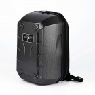 Carbon Fiber ABS Hard Shell Backpack Case for DJI Phantom 4 - Black