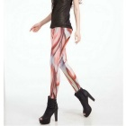 Digital Printing Muscle Pattern Sexy Leggings - Flesh Color (XL)