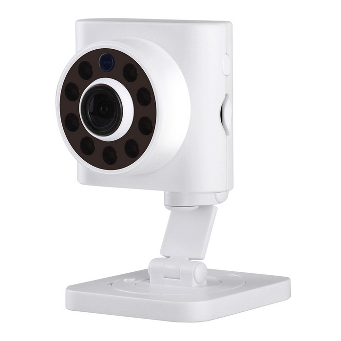 ESCAM Wall-E QF601 720P 2.8mm объектив Мини-Wi-Fi IP-камера (EU Plug)