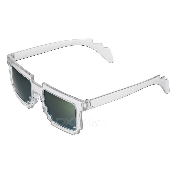 Outdoor Unisex UV400 Protection Sunglasses - Transparent +Green-Yellow