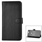 Lychee Pattern Protective PU Case for Huawei Nexus 6P - Black