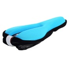 Cool Change Thickened Silicone Cushion Cover for Bike - Blue + Black