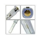WLXY WL6007 ABS + Neon Bulb Test Pen - Transparent White (100~500V)