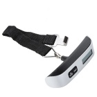 "1.4"" LCD Digital Luggage Scale - Silver + Black (50kg / 10g)"