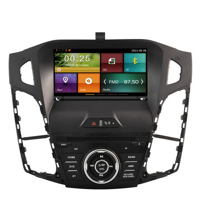 "Cartouch (R) 8 ""Car DVD Player / GPS / Rádio / TPMS - preto + cinza"