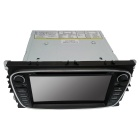 "Cartouch(R) 7"" Car DVD Player / GPS w/ Radio, iPod, USB - Black + Grey"