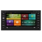 "Cartouch(R) 6.95"" Car DVD Player / GPS w/ Radio, BT - Black + Grey"