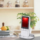 Digital LCD Wireless Remote Barbecue Meat Cooking Thermometer - Silver