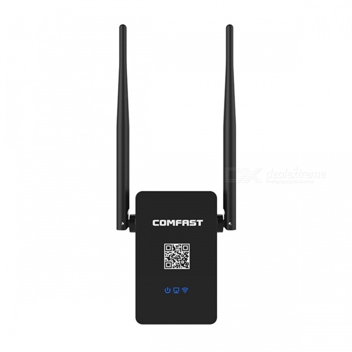 750M 2.4 ~ 5.8G Amplificador Wi-Fi Signal Repeater Range Extender