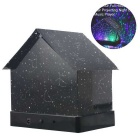 Constellations de maison de bricolage LED star night light light - noir