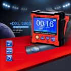 DXL360 High-precision Dual-axis Digital Protractor - Red + Black