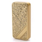 MAIKOU Ultra-thin Windproof USB Rechargeable Lighter - Golden