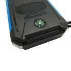 "SUNGZU ""10000mAh"" Dual USB Solar Power Bank w/ Compass - Blue"