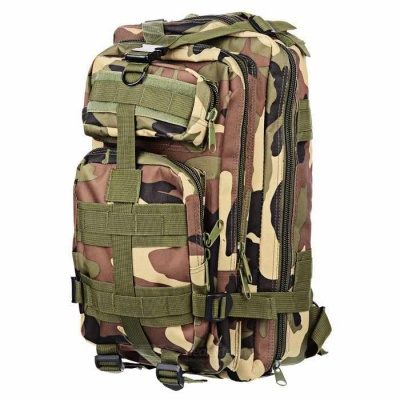 CTSmart BL008 Outdoor Sports Oxford Backpack - Camouflage (30L)