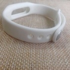 Replacement TPU Wrist Band for Xiaomi Smart Bracelet - White