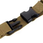 Tactical Military 3 Point Rifle Gun Sling Strap - Army Green