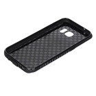 Shockproof TPU Back Case for Samsung Galaxy S7 - Black + Multicolor