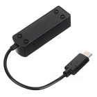 Mini Tipo-C USB 3,1-4-port HUB USB OTG - Black