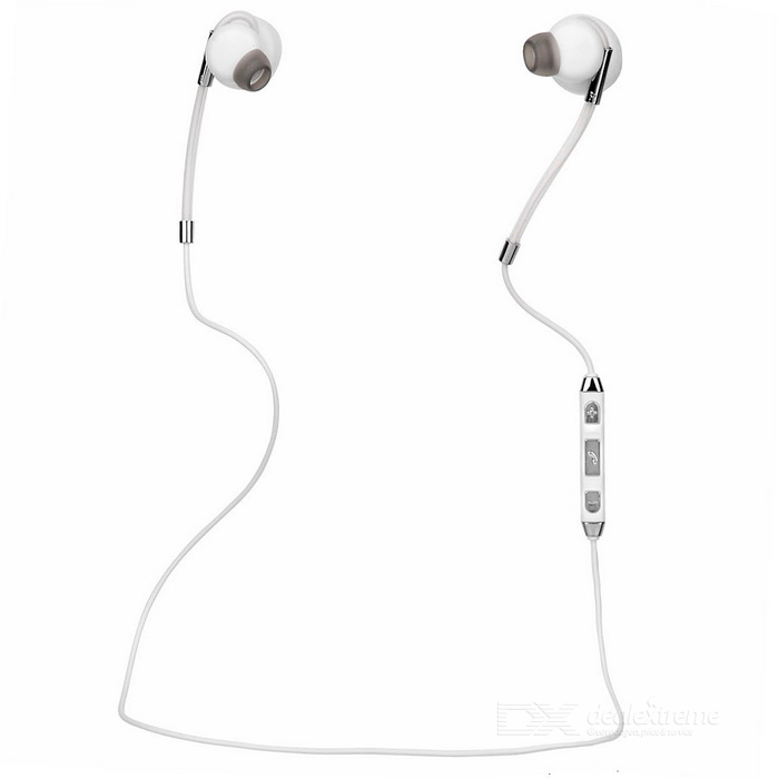 SOUND² In-Ear Bilateral Stereo Bluetooth Earphone - White + Black