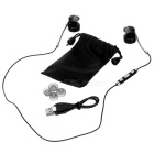 SOUND² In-Ear Bilateral Stereo Bluetooth Earphone - Black + Silver