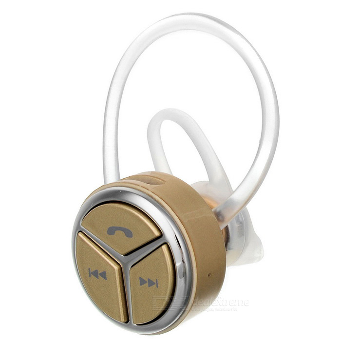 DseKai Q5 Mini In-Ear Single Bluetooth Kopfhörer - Golden