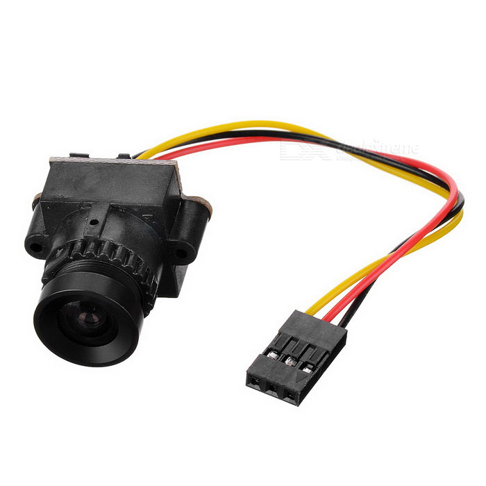 Mini HD MT139 1/3 800Line CCTV Camera FPV aerea Camera - Nero