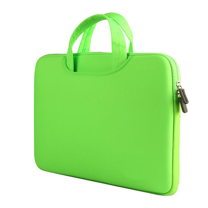 Liner Bag / Tote Bag for MacBook Pro 15.4 - Fresh GreenBags and Pouches<br>Form  ColorPeak GreenQuantity1 DX.PCM.Model.AttributeModel.UnitShade Of ColorGreenMaterialpolyamideCompatible SizeOthers,15 inchTypeSleeves,Tote BagsPacking List1 * Tote Bag<br>