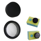 Camera Sports UV Cap Lens + Lens Set capa protetora - Black