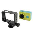 Camera Side Frame Case w/ Mount for XIAOMI XIAOYI - Black