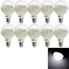 YouOKLight YK0025 E27 9W Cold White LED Bulb Lamps (220V / 10 PCS)