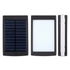 "SUNGZU ""10000mAh"" Dual USB Solar Power Battery Bank - Black"