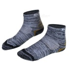 NatureHike Men's Outdoor Quick Drying Coolmax Socks - Black (Pair)