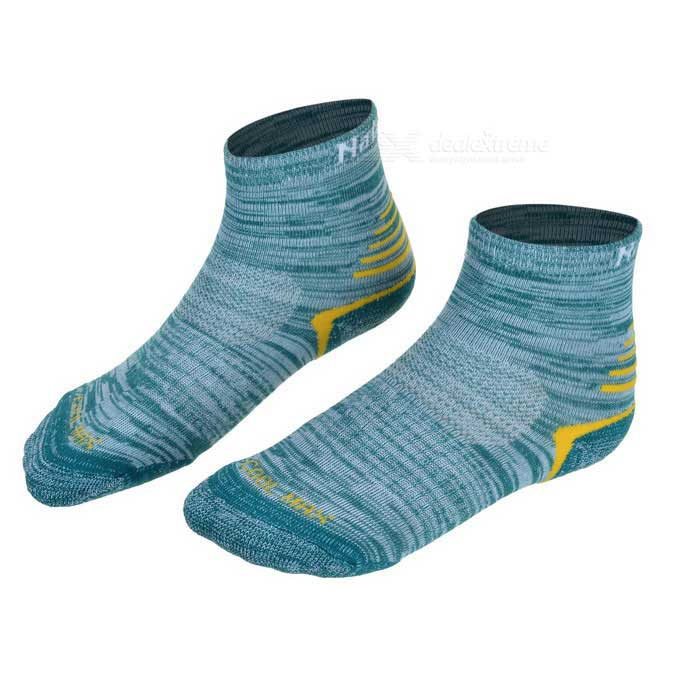 NatureHike Women's Outdoor Quick Drying Coolmax Socks - Green (Pair)