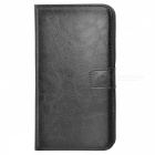 Protective Anti-slip Abrasion Resistance Dustproof Full Body Leather Case w/ Stand / Card Slots