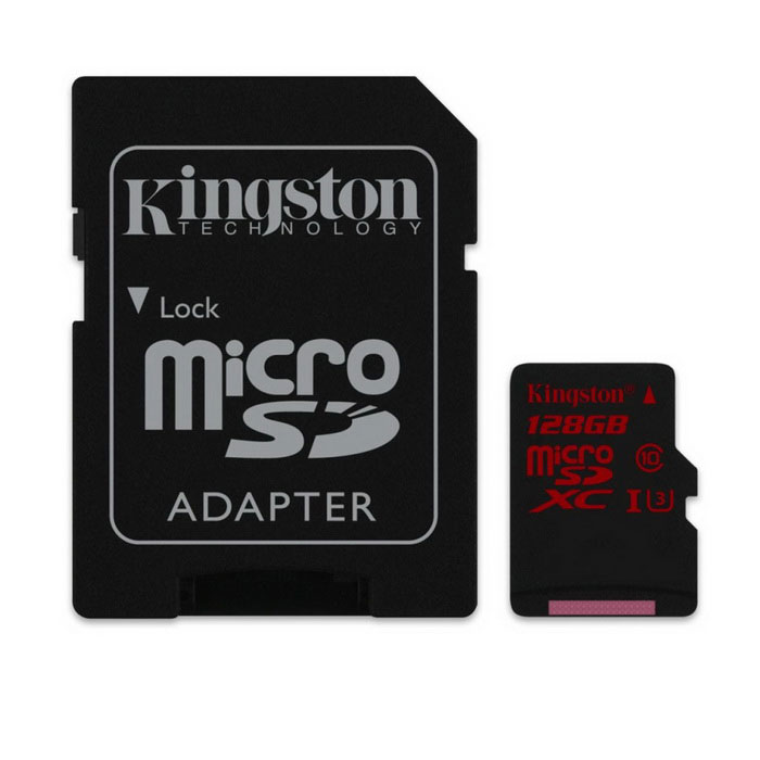 Kingston SDCA3 / 128 GB 128 GB microSDXC - con adaptador SD