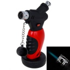 Outdoor Creative Soldering Gun Shaped Butane Light - Red